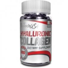 Biotech Hyaluronic & Collagen 30 kaps.