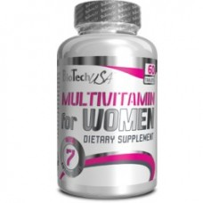 Biotech Multivitamin For Women 60 tab.