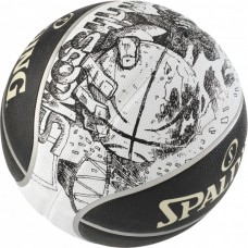 KORVPALLI PALL SPALDING NBA SKETCH SWOOSH