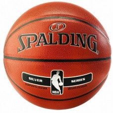 KORVPALLI PALL SPALDING NBA SILVER IN/OUT